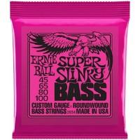 Ernie Ball P02834 Super Slinky Bass Комплект струн для бас-гитары, 45-100, никель
