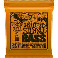 Ernie Ball P02833 Hybrid Slinky Bass Комплект струн для бас-гитары, 45-105, никель