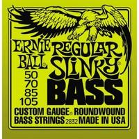 Ernie Ball P02832 Regular Slinky Bass Комплект струн для бас-гитары, 50-105, никель