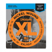 D'Addario EXL1107 Набор 7 струн для электрогитары