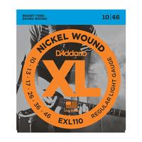 D'Addario EXL110 Набор 6 струн для электрогитар