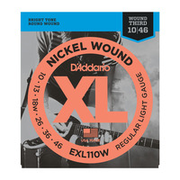 D'Addario EXL110W Набор 6 струн для электрогитары