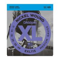 D'Addario EXL115 Набор 6 струн для электрогитары