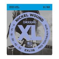 D'Addario EXL116 Набор 6 струн для электрогитары
