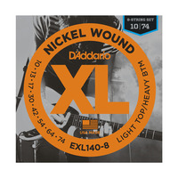 D'ADDARIO EXL140-8 Набор 8 струн для гитары электро
