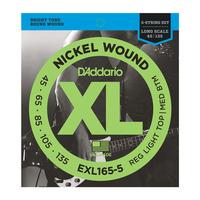 D'Addario EXL165-5 Струны для бас-гитары