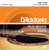 D'ADDARIO EZ900 Набор 6 струн для гитары акустик бронза 010-050