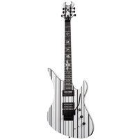 Schecter SYNYSTER CUSTOM WHT/BLK Электрогитара