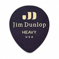 Dunlop 485P03HV Black Teardrop Медиаторы, капля, толстые