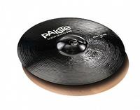 """Paiste 0001913414 Color Sound 900 Black Heavy Hi-Hat Две тарелки 14"""""""