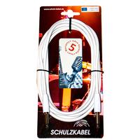 Schulz WES 6 - инструментальный аудио шнур джек-джек, 6 м