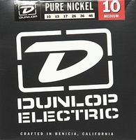 Dunlop DEK1046 Pure Nickel Комплект струн для электрогитары, никель, Medium, 10-46
