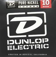 Dunlop DEK1046 Pure Nickel Комплект струн для электрогитары, никель, Medium, 10-46