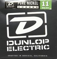 Dunlop DEK1150 Pure Nickel Комплект струн для электрогитары, никель, Medium Heavy, 11-50
