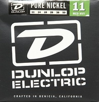Dunlop DEK1150 Pure Nickel Комплект струн для электрогитары, никель, Medium Heavy, 11-50