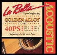 LA BELLA 40PS Струны для акустической гитары