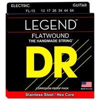 DR FL-13 LEGEND Lite Комплект струн для 6-струнной электро-гитары с полированной плоской обмоткой. 13 USA