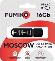 FUMIKO MOSCOW 16GB Black USB 2.0 Флешка