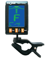 Fzone FMT-700 Хроматический тюнер с метрономом, тачскрин, цвет чёрный