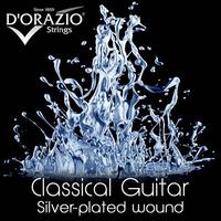 D'ORAZIO  6235 Silverplated Струны для классической гитары
