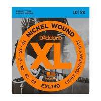 D'ADDARIO EXL140 Набор 6 струн для гитары электро никель 010-052