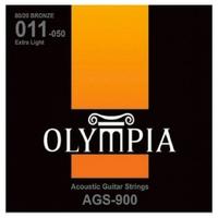 Olympia AGS900  струны для ак. гитары Bronze (11-15-23w-30-39-50)