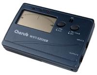 Cherub WST-520GB Цифровой тюнер гитара, бас-гитара, цвет тёмно-серый