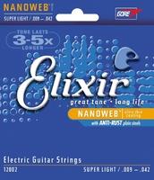 Elixir 12002 струны для электрогитары