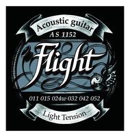 Flight AS1152 Струны для акустической гитары