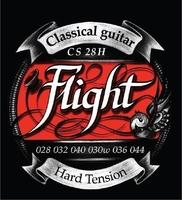 Flight CS28H Струны для классической гитары