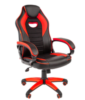 Chairman game 16 чёрный/красный Игровое кресло