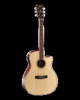 Cort GA-MEDX-OP Grand Regal Series Электро-акустическая гитара, с вырезом, натуральный