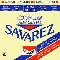 Savarez 500CRJ New Cristal Corum комплект струн для классической гитары