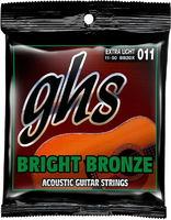 GHS BB20X Струны для акустической гитары; бронза; (11-14-22-30-38-50)