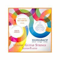 Hannabach 600HT Silver-Plated Orange Комплект струн для классической гитары, сильное натяжение