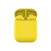 HIPER TWS AIR Soft Bluetooth 5.0 гарнитура Li-Pol 2x50mAh+300mAh, Желтый