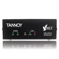 Tannoy Vnet™ USB RS232 интерфейс для коммутации системы звукоусиления VNet и компьютера.