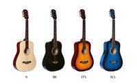 """Fante FT-221-BK Акустическая гитара 41"""", с вырезом, черная"""