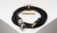 SHNOOR IC124-XFJM-10m Инструментальный кабель с разъёмами XLR мама-Jack моно 10м