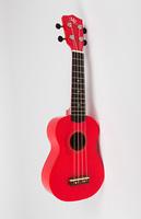 MARTIN ROMAS 21RD укулеле красная с чехлом, сопрано