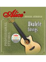 ALICE AU-02 Cтруны для укулеле-сопрано чёрный нейлон