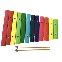 MUZTON XL-12 Ксилофон детский диатонический, 12 нот