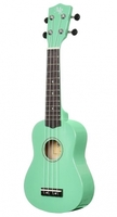 MARTIN ROMAS MR 21GR зеленая укулеле с чехлом, сопрано (21 дюйм)