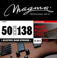 Magma BE205N Nickel Heavy 5 String (50-138) струны для бас-гитары