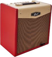 Cort CM15R-EU-DR CM Series Гитарный комбоусилитель, красный, 15Вт