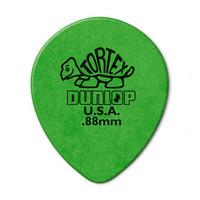 Dunlop 413R.88 Tortex Teardrop Медиаторы, капля, толщина 0,88мм