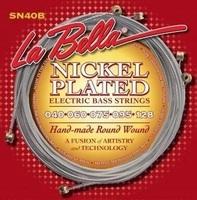 La Bella SN40-B Комплект струн для 5-струнной бас-гитары, никелированные, 40-128