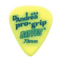 D'Andrea RPGB351-073MD ProGrip Brites Медиаторы, дерлин, 72шт, 0.73мм