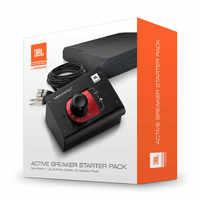 JBL ACTPACK Контроллер студийных мониторов. 2 изолирующие подставки для мониторов, 4 XLR to TRS кабеля