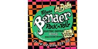 La Bella B1150 The Bender Blues Комплект струн для электрогитары, никелированные, 11-50